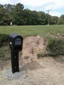 new mail box installation