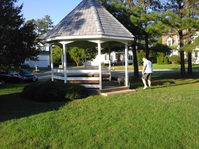 Gazebo Repair Installation