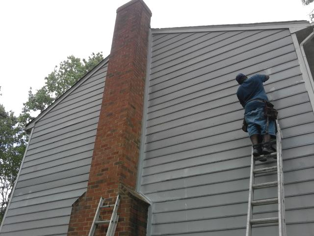 siding chimney repair