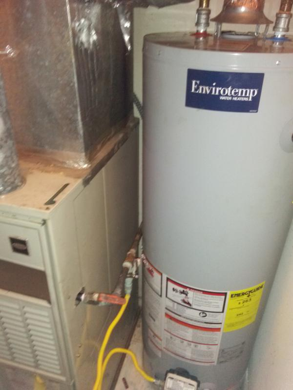 water heater repair replacement installation gas electric