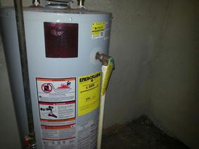 water heater installation